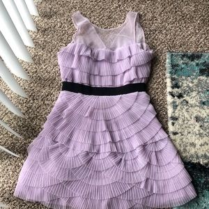BCBG lavender cocktail dress size 4